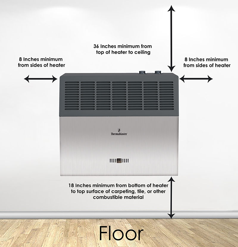 10,000 BTU Infrared Vent-Free Heater - Thermablaster