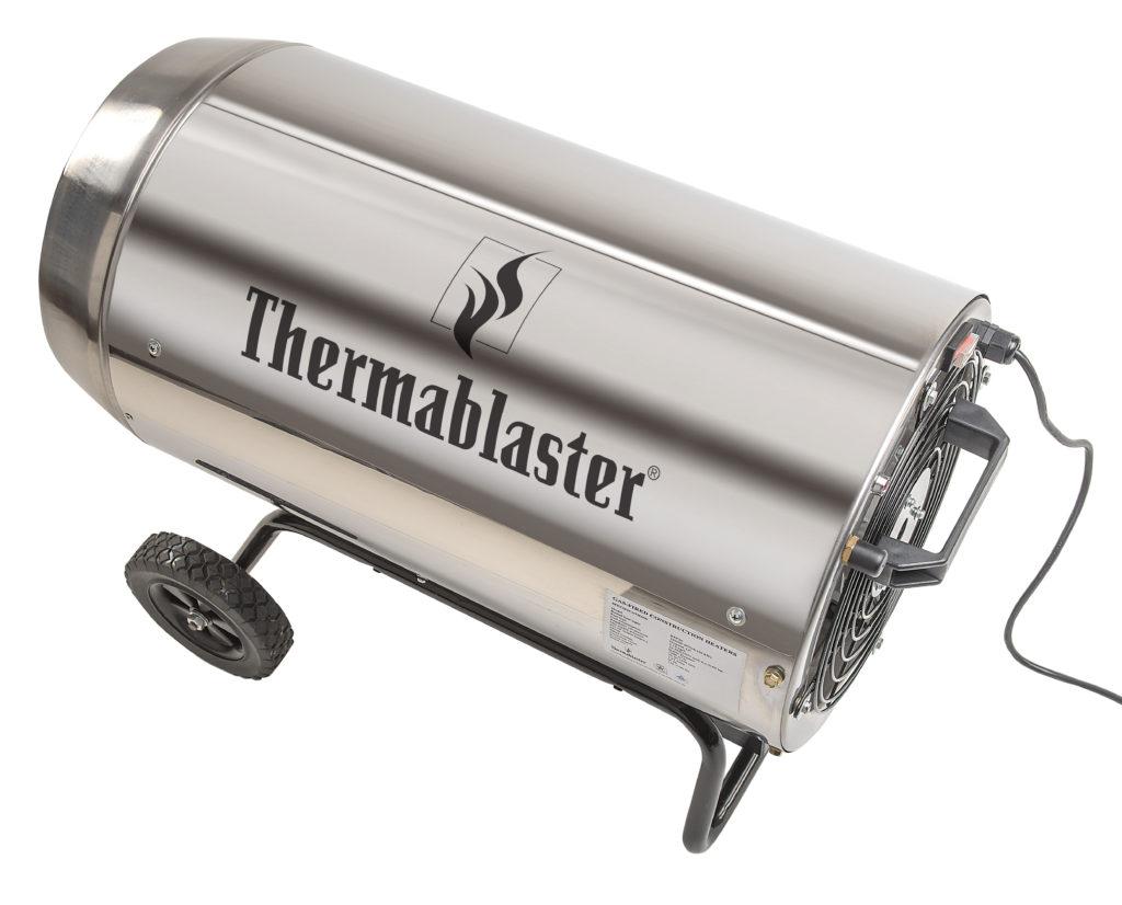 175 000 Btu Propane Forced Air Heater Stainless
